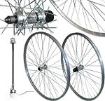 700c Alloy Hybrid Bike Front & Rear W...