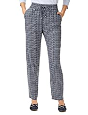 Indigo Collection Aztec Print Trousers