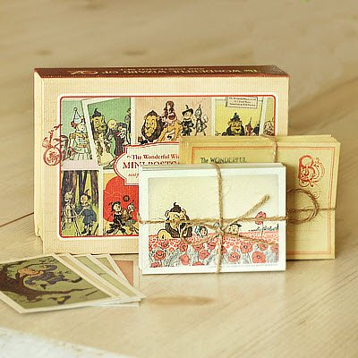 Dorothy Mini Post Card Set - The Wonderful Wizard