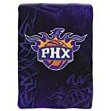 Northwest Phoenix Suns NBA Royal Plush Raschel Blanket - 800 Series - 60 x 80 Inch