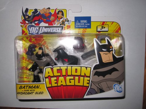 DC Universe Action League - Batman with Hydrobat Sled - 1