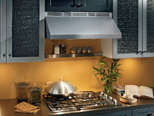 Broan AP130SS Variable Range Hood, 440 CFM, 9 x 30-Inch, Stainless Steel
