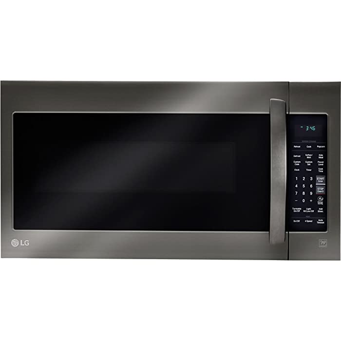LG LMV2031BD2.0 Cu. Ft. Black Stainless Steel Over-the-Range Microwave Via Amazon