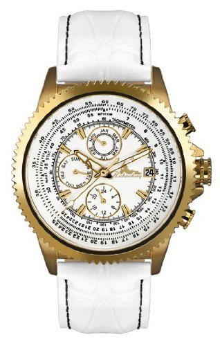 Richtenburg Montre Homme Panama blanche or IP R10800