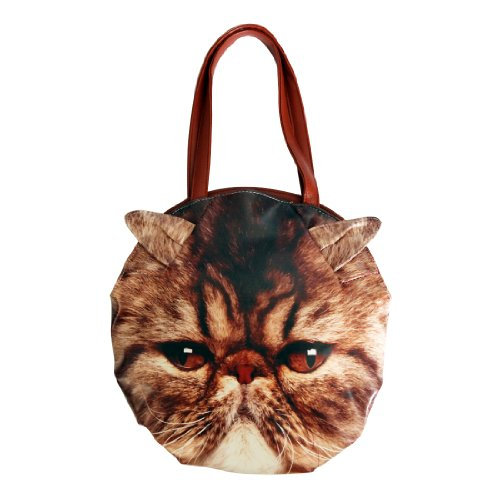 Beau Corner Fashion 3D Animal Cute Cat Shoulder Bag Handbag Tote