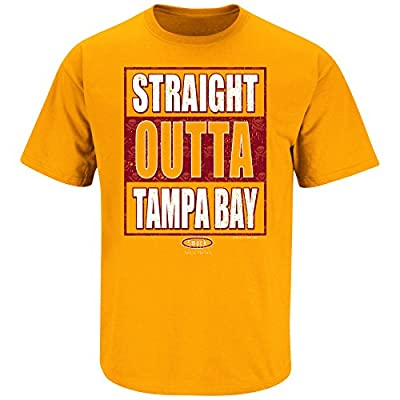 Tampa Bay Buccaneers Fans. Straight Outta Tampa Bay. Orange T Shirt (Sm-5X)