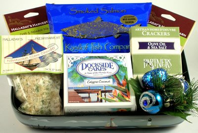 Seafood Delight | Gourmet Holiday Gift Basket