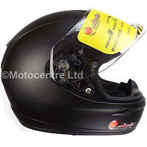 Scorpion EXO 410 Airfit Pump Up Matt Black casque de moto