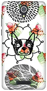 The Racoon Grip printed designer hard back mobile phone case cover for Gionee Marathon M4. (Pupcakes)