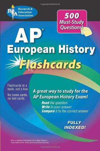 Advanced Placement European History Flashcard