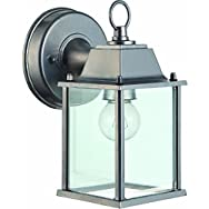 Home Impressions Outdoor Wall Fixture Lantern-BN OUTDOOR WALL FIXTURE