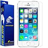 ArmorSuit MilitaryShield - Apple iPhone 5S Screen Protector Anti-Bubble Ultra HD - Extreme Clarity & Touch Responsive Shield with Lifetime Free Replacements - Retail Packaging