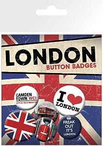 Pack de chapas London Freak Out   Comentarios de clientes y más noticias