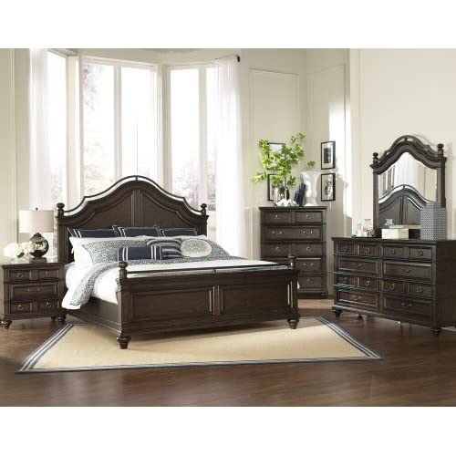 Magnussen Furniture Bellingham Collection Panel Bed Bedroom Set