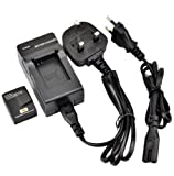 DSTE® AHDBT-301 Rechargeable Li-ion Battery + Charger DC137U for GoPro HD Hero3 and GoPro AHDBT-201, AHDBT-301 Digital Cameras