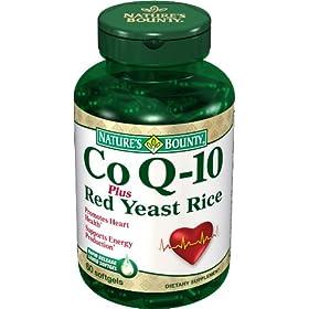 自然之宝辅酶+红麴降脂护心软胶囊60粒S&S$18.65