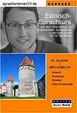 echange, troc Udo Gollub - Sprachenlernen24.de Estnisch-Express-Sprachkurs: CD-ROM für Windows/Linux/Mac OS X + MP3-Audio-CD für Computer /MP3-Player /M