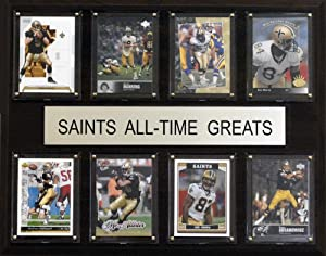 NFL New Orleans Saints All-Time Greats by C&I Collectables