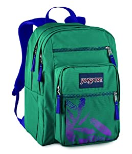 JanSport Big Student School Backpack (Barnacle Blue Quill)