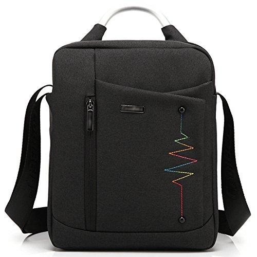 YIYINOE Crossbody bag 11 11.6 12.4 12 inch Men Women Tablet PC Notebook Laptop Bag for Microsoft Surface Pro 2 3 iPad 4 Shoulder Bag Black