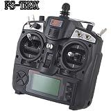 New FlySky 2.4G 9CH FS-TH9X-B/TH9B TX Transmitter+R8B RX Receiver Radio Control By Buyincoins