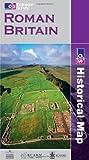 Roman Britain (O/S Historical Map) [Paperback]