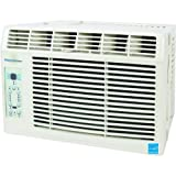 "Keystone KSTAW05A Energy Star 5,200 BTU 115-Volt Window-Mounted Air Conditioner with ""Follow Me"" LCD Remote Control..."
