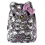 Hello Kitty Womens Pink Grey And White All Over Print Backpack Loungefly