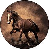 Pferd Bild 4x 4Ersatzrad-Abdeckung (Aufkleber