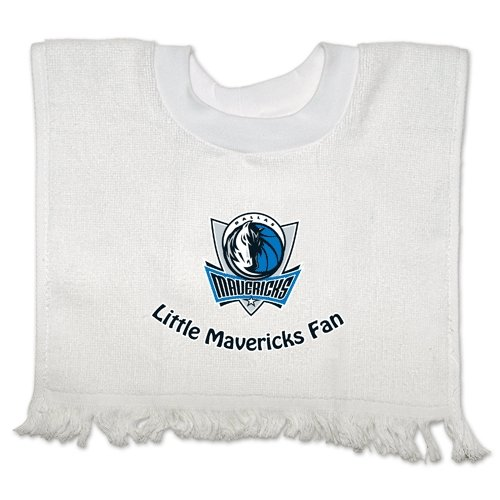 Dallas Mavericks Official Nba Infant One Size Baby Bib By Mcarthur front-629676