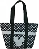 Mickey Mouse Black Iconic Tote Bag