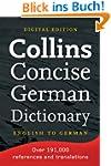 Collins Concise English-German Dictio...