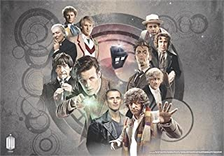 Doctor Who Wallpaper Mural - 50th Anniversary 4 (Fixed Size)