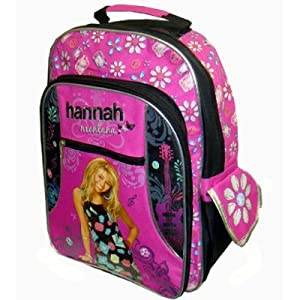 Amazon.com : Hannah Montana Backpack - Disney's Officially Licensed Hot Pink & Black Back Pack