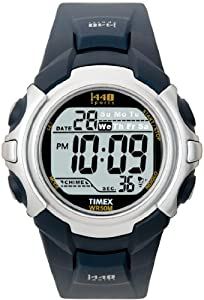 Timex Men's T5J571 1440 Sports Digital Blue Resin Strap Watch