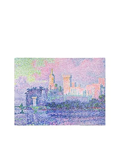 Paul Signac Chateau de Papes Avignon 1900 Canvas Wall Art