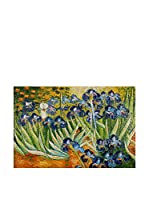 ZARTE DAL MONDO Pintura al Óleo sobre Lienzo Van Gogh Iris