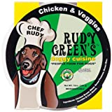 Rudy Greens Doggy Cuisine Chicken and Veggie, 12-Ounce Units (Pack of 8)
