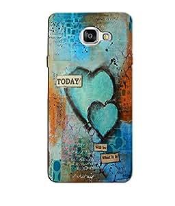 Citydreamz Today/Quotes/Love Hard Polycarbonate Designer Back Case Cover For Samsung Galaxy A7 2016 Edition/Samsung Galaxy A710
