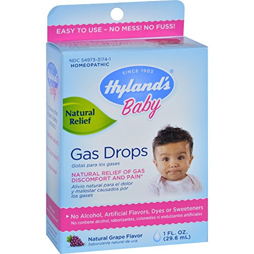 Hylands Homeopathic Baby Gas Drops 1 fl oz (Hylands Baby Gas Drops compare prices)