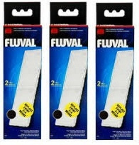 3-x-Fluval-U3-Cartouche-Poly-carbone-Lot-de-2