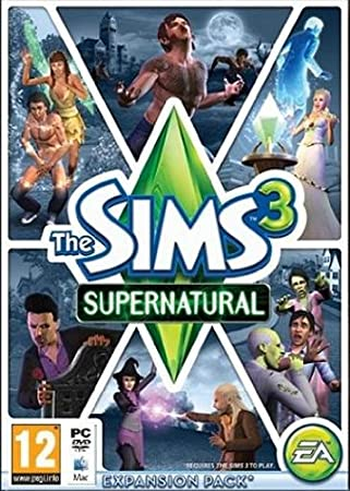The Sims 3 Supernatural (Mac/PC DVD)