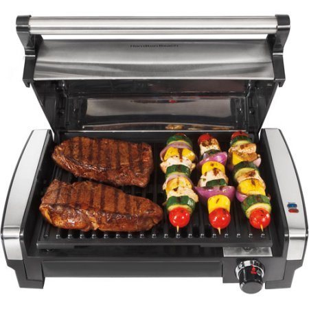 Stainless Steel Searing Grill with Removable Nonstick Cooking Plate (Indoor Grill Searing compare prices)