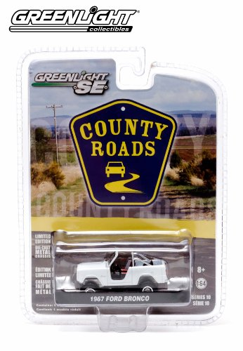 1967 Ford Bronco * County Roads Series 10 * 2014 Greenlight 1:64 Scale Limited Edition Die-Cast Vehicle
