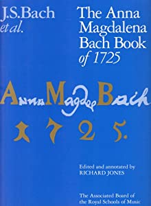 The Anna Magdalena Bach Book Of 1725 Signature from Associated Board of the Royal Schools of Music