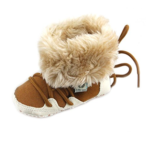 Baby Snow Boots Warm Linen