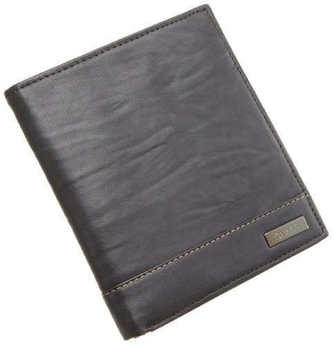 Guess Men's Organizer Wallet,Black,One Size