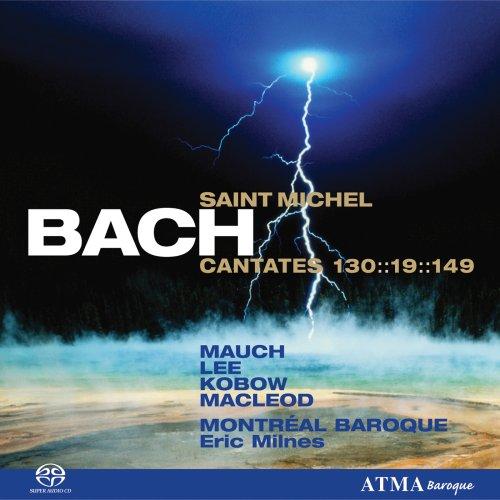 Bach Saint Michel Cantatas [Hybrid SACD] Bach Tenor - David d Q Lee Contre Te