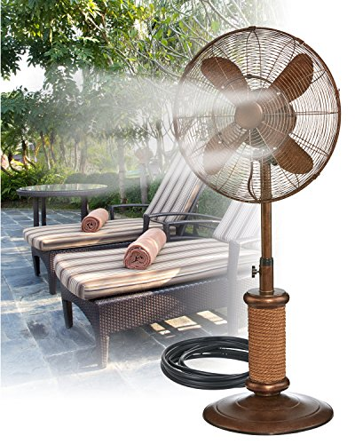 Indoor Misting Fan : Outdoor yard decorations july