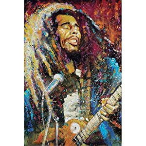 Stephen Fishwick - Marley True Colors Poster